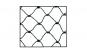 Plasa speciala impotriva pasarilor si animalelor din Poliamida Textila Votton® 1 MP Ochi plasa 30 mm