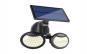 Proiector lampa stradala  56 SMD Led  Cu Panou Solar - Culori Rece 5500-6000K Rezistena La Apa IP65 Senzor Amurg IR Sensor
