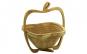 Cos din bambus natural pliabil Cos de fructe