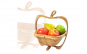 Cos de fructe pliabil in forma de mar