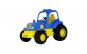 Tractor POLESIE HARDY , Albastru/Galben