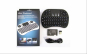 Mini tastatura wireless portabila cu mouse touchpad integrat si acumulator