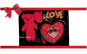 Set Valentine's Day: ursulet, ceas, trandafir si mesaj surpriza