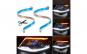 Set 2 buc banda leduri flexibila slim, DRL cu semnalizare secventiala, 60cm