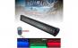 Led bar auto DRL RGB cu Telecomanda, Blitz Flash, Alimentare 12/24 V CREE