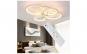 Lustra LED Circle Design 4 Cercuri cu Telecomanda Reglarea intesitatii luminii si a culorii