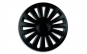 Set capace roti 16` negre luxury