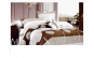 Lenjerie de pat 4 piese -model geometric