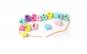 Joc lemn Montessori 5 in 1, Pescuit magnetic, Puzzle, Indemanare bile, Snuruit, finisaje excelente, lacuri ecologice
