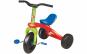 Tricicleta multicolora cu pedale si 3 roti, are scaun cu spatar , pentru copii , model unisex, ATS