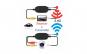 Kit wireless 2.4G pentru camera marsarier 12V PZ01W (universal-Premium)