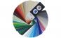 Paletar de culori tip evantai ICA, 160 culori