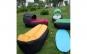 Canapea - Saltea gonflabila cu parasolar, ideala pentru iesirile in aer liber