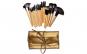 Set de 24 Pensule Profesionale din par natural, Top Quality Golden Lights