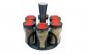 Set condimente 6 recipiente - cu suport rotativ