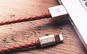Cablu piele iPhone
