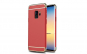 Husa Samsung Galaxy S9 Plus Flippy Luxury Plating 3 in 1 Rosu