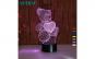 Lampa De Veghe 3D LED, Ursulet cu inima