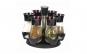 Set condimente 6 recipiente cu suport