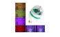 Bec rotativ colorat in 3 culori, 3 W,LED