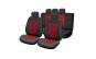 Huse scaune auto compatibile LAND ROVER Freelander II 2006-2014 (4 usi) PLUX (Negru + Rosu)