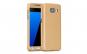 Husa Full Cover 360 (fata + spate + folie sticla) pentru Samsung Galaxy A5 (2016), Gold