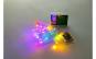 Instalatie de Craciun cu Baterii Tip Liniar, 2 jocuri de lumini, Fir Transparent 3 m 30 LED -uri, Multicolor
