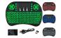 Mini tastatura wireless iluminata LED pentru PC, laptop, tableta, Xbox, smart TV, Play Station, Raza 10m