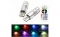 Bec pozitie RGB CU TELECOMANDA SILICON