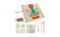 Joc educativ Mozaic cu bile din lemn Iso Trade MY17389 Initiala