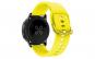 Curea Silicon Premium MTP Yellow 22mm Quick Release, Fara Striatii, pentru Samsung Galaxy Watch 46mm