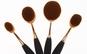 10 Pensule ovale make-up