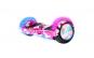 Scooter Hoverboard Nebula, electric, lumini LED pe roti si aripi, 6.5 inch, telecomanda, bluetooth, cu maner si Husa si Telecomanda Bonus