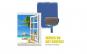 Kit 2x Trafaleti  Profesional cu umplere + rezervor recipient,brat extensibil, 2x accesorii pentru colturi,
