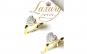 Cercei Love Imperial, Cristale Zirconiu, Placati 18K