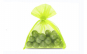 Saculeti organza, 5x7 cm, 25 bucati, Lime Green , OBAGSMALL