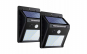 Set 2x Proiector exterior de perete cu Panou Solar si Senzor de Miscare-Lampa cu 20 LED-uri