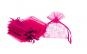 Saculeti organza, 5x7 cm, 25 bucati, Pink , OBAGSMALL