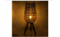 Lampa decorativa din lemn