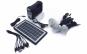 Panou solar fotovoltaic - KIT iluminare 3 becuri, cu lanterna, incarcare telefon