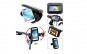 Suport telefon universal, marime XL pentru bicicleta/motocicleta, impermeabil C150