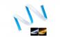Set 2 buc banda leduri flexibila slim, DRL cu semnalizare secventiala, 60 cm