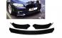 Spoiler LIP prelungire bara fata Negru ALM Compatibil BMW Seria 5 F10
