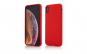 Husa Vetter iPhone XS Max Clip-On Soft Touch Silk Series Rosu
