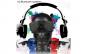 Boxa portabila in forma de craniu, wireless speaker, Bt fm/radio, Loud speaker + Cadou