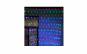 Instalatie plasa multicolora 2.3m x 2.3