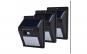 Set cu 3 lampi LED solare cu senzor de miscare, pentru garaje, scari, usi sau debara