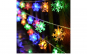 Instalatie LED fulgi de zapada colorati 6.30 m 45 LED