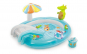 Piscina gonflabila pentru copii cu tobogan si accesorii Intex