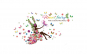 Sticker decorativ, flower fairy 170 cm,